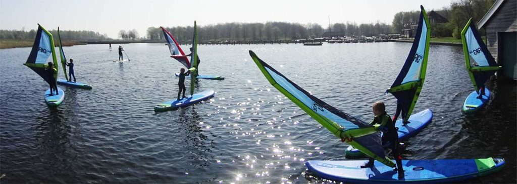 kinderverjaardag surfen windsurfen