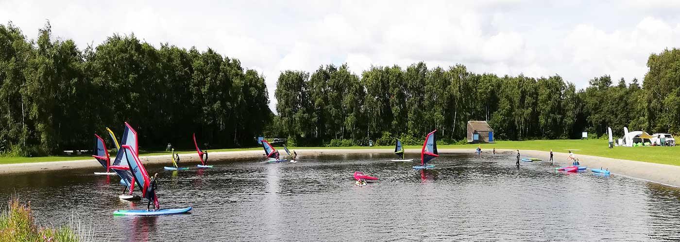 jeugd windsurf diploma twiske